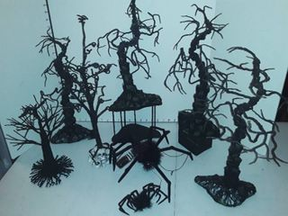 spooky Forest Halloween decor