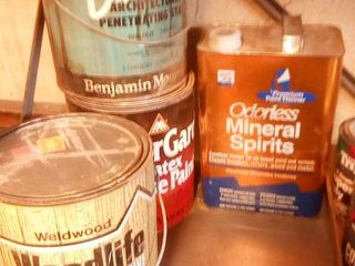 assorted paint products
