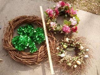 various wreaths