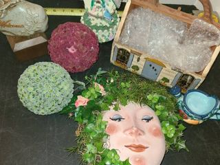 Miscellaneous Home Decor Face  Welcome Rock  and other items