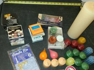 Variety of Candles