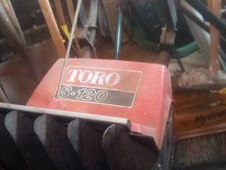 Toro s120 snow thrower