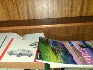 Road Atlas with lincoln Mark VII Manual