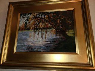 RK Dugan Framed Art 20x 24 in