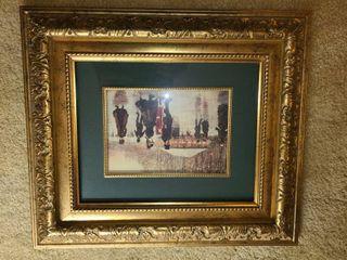 Framed Wall Art 13 x 15 in