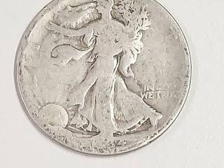 1934 D Walking liberty Silver Half Dollar
