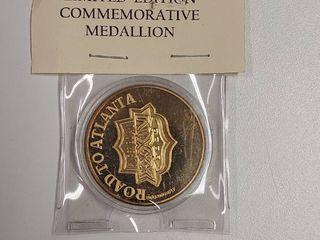 limited Edition Commemorative Medallion   Super Bowl XXXIV