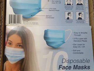 6  10 ct  pkg  face masks