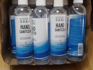 8  8 fl  oz  fragrance free hand sanitizer with Aloe Vera   Vitamin E
