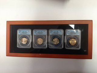 2008 Presidential Dollar Set in Presentation Box