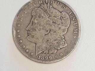 1899 S Morgan Silver Dollar