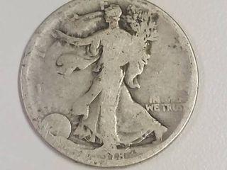 1918 Walking liberty Silver Half Dollar