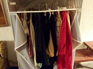 Vintage Clothes and Wardrobe in Basement