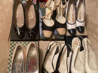 9 pairs of heels