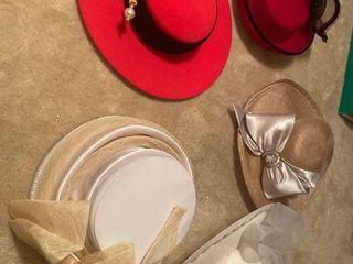 5 ladies hats