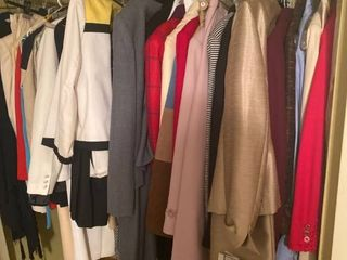 all womens suits and more in closet
