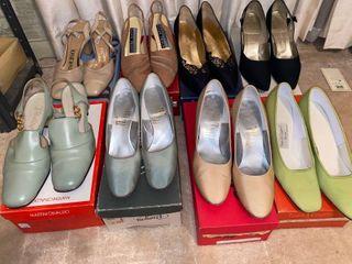 8 pairs of nice heels