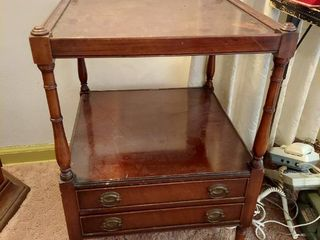 End Table with 2 Drawers