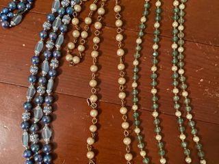 3 large necklaces