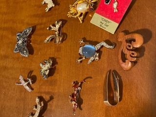 assorted animal pins