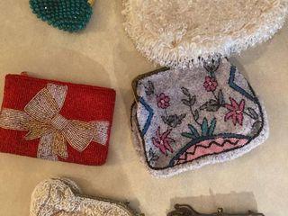 beaded coin purses