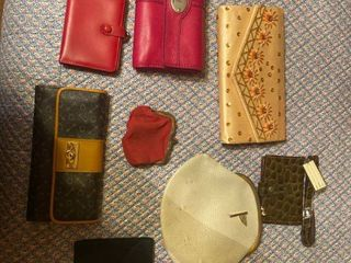 wallets   one is Fossil