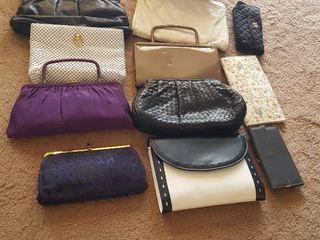 Assorted purses