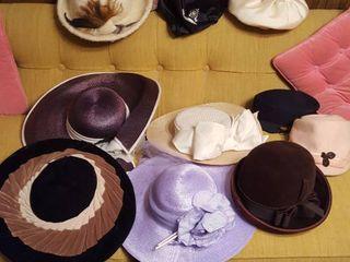 10 assorted women s hats