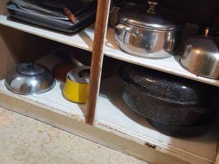 assorted cookware