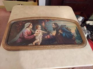 Vintage Holy Family Picture