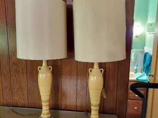Pair of Rembrandt lamps
