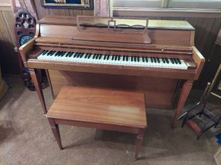 Wurlitzer Piano with Bench