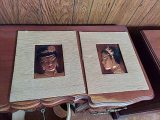 2  Wanda Irwin Tooled Copper Art
