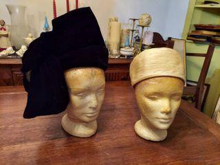 2 Vintage Hats