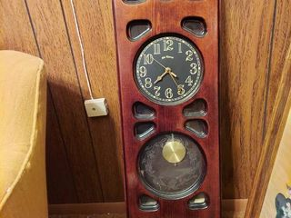 Old Timers Wood Wall Clock