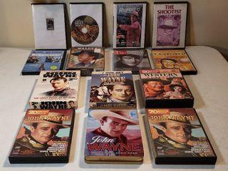 DVDs   mainly John Wayne Collection