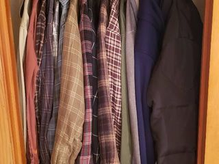 Men s Clothing   Size M   Canvas   Flannel Shirts  Insulated Flannel Shirts  Insulated Hoodies and Wrangler Down Jacket