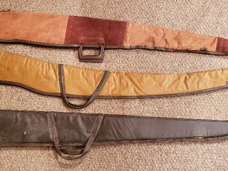 3 Kolpin Soft Side Rifle Cases   2  48 in  and 46 in    all zippers work