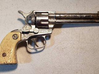 Vintage Nichols STAllION 38 Toy Cap Gun  1950 s   9 5 in  long