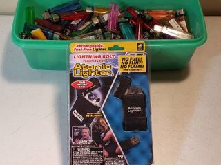 Atomic lighter As Seen on TV BulbHead com and Numerous Disposal lighters