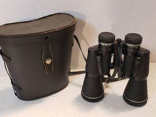 Pair of Carl Wetzlar 16x50 Astralux Binoculars w case