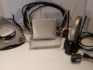3 Rabbit Ear type TV Antenna  RCA  Philips  and Radioshack