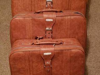 Set of 5 World Traveler Vinyl Soft Side luggage