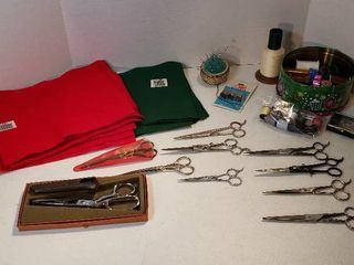 Sewing Notions and Scissors