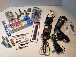 Personal Hygiene Products  Electric Razors  works  Vintage Razors  Disposable Razors  Teeth Care  and Hair   Nail Care Items