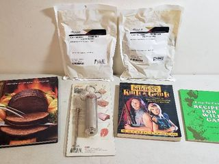 Marinade Injector  2 Pkgs  Meat Marinade and 3 Cookbooks for Game