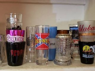Numerous Shot Glasses