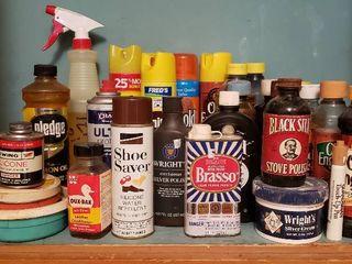 Household Polishing Products   bring box