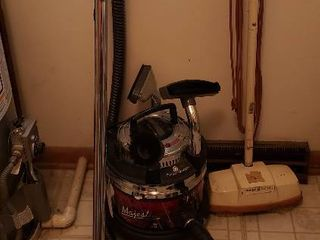 Filter Queen Majestic Canister Vacuum and GE Floor Scrubber   both work