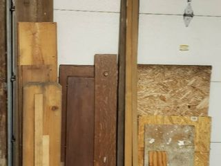 Assorted Wood and Boards   Various sizes and types